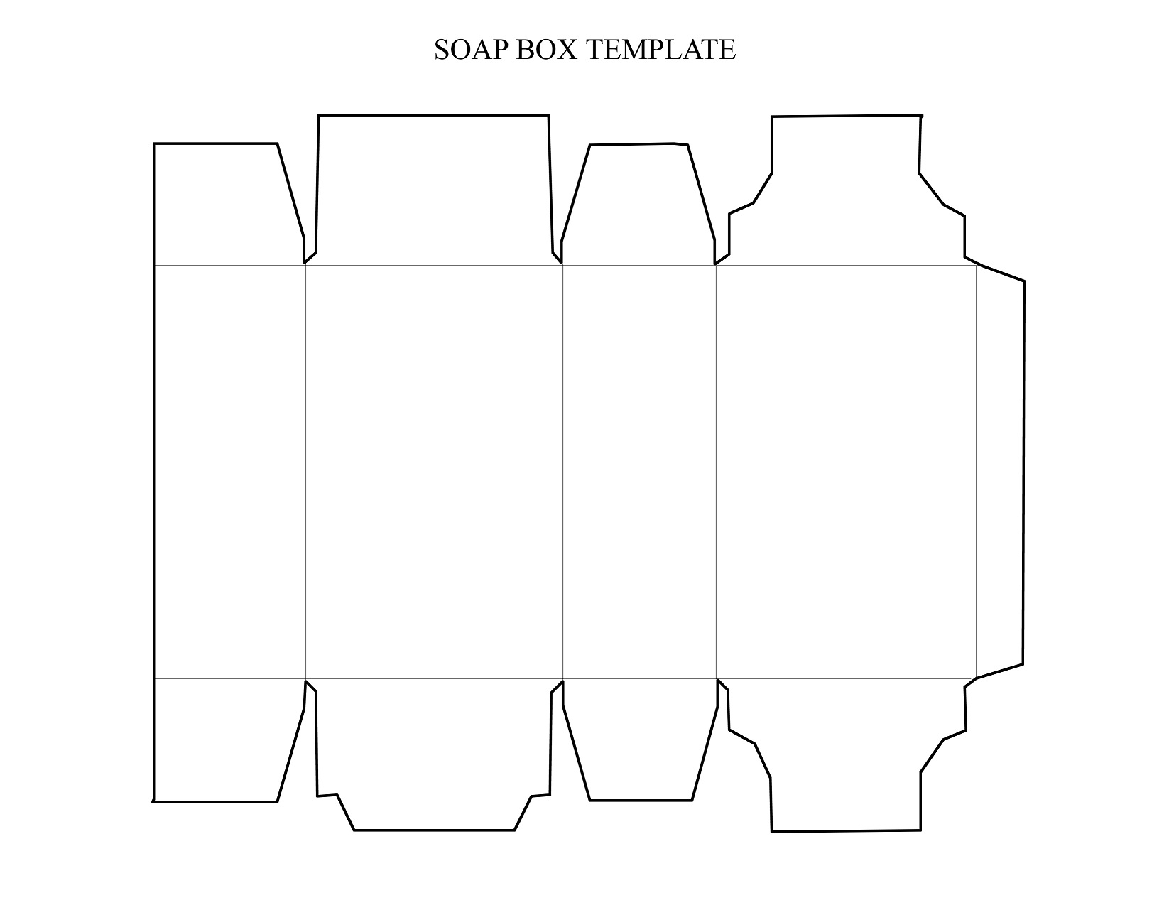 soap box design template - laser engraver downloadable projects examples laser
